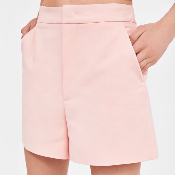 9dc33776 Zara Shorts | Pink Highwaisted | Poshmark